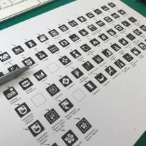 Pictogramas con Pertenecía Indígena - Pueblos Mapuche - Aimara - Rapanui . Un proyecto de Diseño de pictogramas de Hendrik Muskus - 25.03.2021