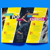 Loose - revista de música Pop. Curso de diseño y construcción de una revista.. Un proyecto de Dirección de arte, Diseño editorial y Diseño gráfico de Luis Eduardo Cabezudo Guillén - 25.03.2021