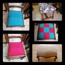Mi Proyecto del curso: Restauración y tapizado de sillas. Un proyecto de Carpintería de Tamara Norambuena Correa - 26.03.2021