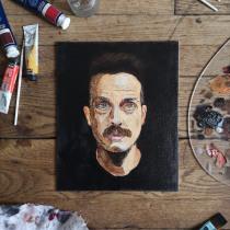 My project in  Realistic Oil Portraiture: Conveying Detail and Expression course. Un progetto di Brush painting , e Pittura ad olio di Floriane Vita - 26.03.2021