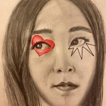 Mi Proyecto del curso: Retrato contemporáneo en grafito. A Pencil drawing project by vpulgar - 03.27.2021