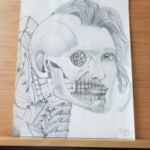 Final Project: The Human Head course. Un proyecto de Dibujo artístico de Lasha Barbosa - 28.03.2021