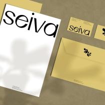 Seiva - My project in Printed Product Design for Visual Brand Identity course. Um projeto de Design gráfico de Daniela Galvão - 02.04.2021