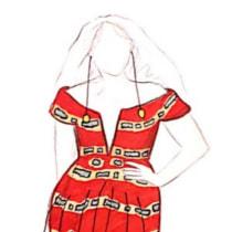 """Colección """"Grammys para Beyoncé"""". Un progetto di Fashion Design di Ana Sánchez - 28.03.2021"""