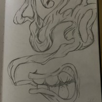 Mi Proyecto del curso: Cuaderno de artista para proyectos de ilustración. A Pencil drawing project by Mateo Escobar Jimenez - 04.07.2021