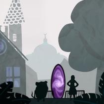 Smoke and mirrors. Un proyecto de Ilustración, Ilustración infantil y Narrativa de Costisella Anne - 07.04.2021