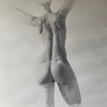My project in Dynamic Figure Drawing course. A Artistic drawing project by herve121 - 04.08.2021