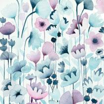 My project in Vibrant Floral Patterns with Watercolors course. Un progetto di Pittura ad acquerello di ellestaples - 08.04.2021