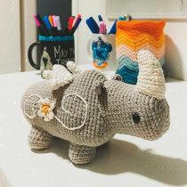 Meu projeto do curso: Design e criação de amigurumis. Un proyecto de Crochet de davispcosta - 09.04.2021