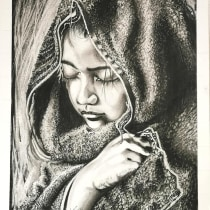 My project in Artistic Charcoal Portraiture: Creating Atmosphere course. A Zeichnung project by Rouleau Nadine - 13.04.2021