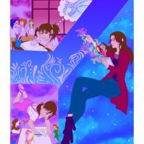 Mi Proyecto del curso: Ilustración digital con influencia manga. A Digital Drawing project by sofy251821 - 04.07.2021
