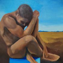 Mi Proyecto del curso: Introducción a la pintura surrealista al óleo. A Painting, and Oil painting project by jorge.ramirez - 04.16.2021