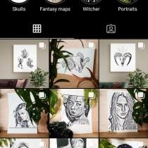 Artist's page - Ink drawings and fantasy maps. A Zeichnung, Porträtzeichnung, Artistische Zeichnung und Illustration mit Tinte project by martina152 - 16.04.2021