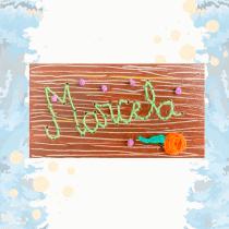 Mi Proyecto del curso: Bordado sobre madera. Un proyecto de Bordado de Yolanda Molano - 14.09.2020