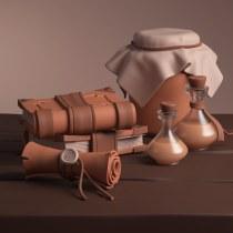 Mi Proyecto del curso: Modelado cartoon de bodegones con Maya. Un proyecto de 3D y Modelado 3D de Robinson Bazurto Orrego - 18.04.2021