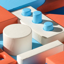 Blocks. A Illustration, 3-D und Animation project by stugrapher - 24.04.2021