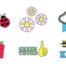 My project in Motion Graphics for Social Media: Create A Sticker Pack course. Um projeto de Ilustração e Animação 2D de Jeremy Christensen - 28.04.2021