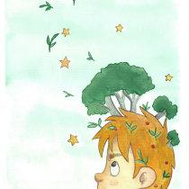 Meu projeto do curso: Ilustração infantil com aquarela. Um projeto de Pintura em aquarela de cibelle.designer - 29.04.2021