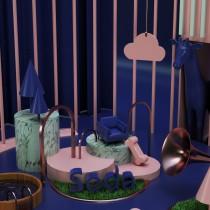 Mi Proyecto del curso: Creación de composiciones 3D en Cinema 4D. Un progetto di 3D , e Composizione fotografica di dc.evrenin - 30.04.2021