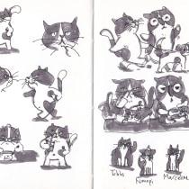 My project in The Art of Sketching: Transform Your Doodles into Art course. Un projet de Illustration, B, e dessinée, Esquisse  , et Carnet de croquis de Sonja PF Dale - 02.05.2021