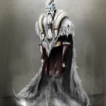 Njal, the Draugr King (Huge help from this awesome course!). Un progetto di Illustrazione digitale di Hassan Ali - 05.05.2021