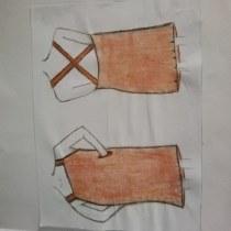 Mi Proyecto del curso: Introducción al diseño de moda. Un proyecto de Diseño de vestuario de Josefina Andrea Pérez Andrades - 07.05.2021