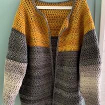 My project in  Top-Down: One-Piece Crocheted Garments  course. Un projet de Artisanat de Christie Thomas - 10.05.2021
