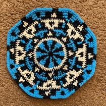 Mi Proyecto del curso: Tapestry circular: Diseño Precolombino. Un progetto di Design di accessori, Moda, Design Pattern, Tessuto , e DIY di Tatiana Plazas T - 12.05.2021