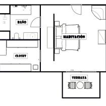 Mi Proyecto del curso: Iniciación al diseño de interiores. Um projeto de Instalações, Arquitetura de interiores, Design de interiores, Decoração de interiores, Interiores e Design de espaços comerciais de Valieri Díaz - 19.05.2021