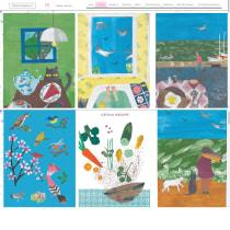 Mi Proyecto del curso: Claves para crear un porfolio de ilustración profesional. Un projet de Illustration , et Gestion de portefeuille de Stéphanie Weppelmann - 19.05.2021