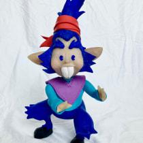 Resultado final de mi Personaje Rucko.. Un projet de Character Design, Sculpture, Conception de jouets , et Art to de Juan Mont - 18.05.2021