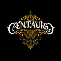 Lettering ornamental para Estudio Centauro. Um projeto de Tipografia, Lettering, Ilustração vetorial, Design de logotipo e Lettering digital de Lucas Merino Paves - 06.05.2021