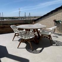 Mi Proyecto del curso: Mesa terraza. Un progetto di Artigianato, Design di mobili, Interior Design, Interior Design , e DIY di Maria Jaramillo - 23.04.2021