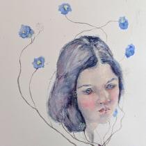 My project in Expressive Watercolor Portraits course. Un progetto di Illustrazione, Belle arti, Pittura, Pittura ad acquerello, Illustrazione di ritratto , e Disegno di ritratto di Abby Lee - 21.05.2021