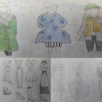 Mi Proyecto del curso: Introducción al diseño de moda. Un projet de Mode, St , et lisme de lauraroa_13 - 15.05.2021