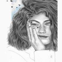 Mi Proyecto del curso: Retrato contemporáneo en grafito. Un progetto di Illustrazione, Belle arti, Bozzetti, Disegno a matita, Disegno, Illustrazione di ritratto, Disegno di ritratto, Disegno realistico, Disegno artistico , e Disegno anatomico di caro.silva.h - 25.05.2021
