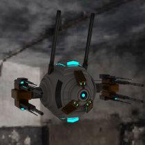 Mi Proyecto del curso: Drone Proyectil para guerra. Um projeto de Design, 3D e Modelagem 3D de Kimberly Huaylla - 19.05.2021