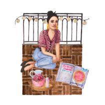 My project in Illustration and Character Development with Watercolor course. Um projeto de Ilustração, Design de personagens, Pintura e Pintura em aquarela de Dorota Osiejuk - 26.05.2021