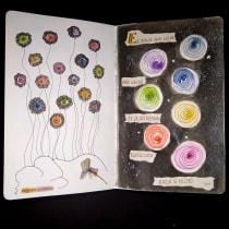 Mi Proyecto del curso: Cuaderno artístico para viajes imaginarios. Un proyecto de Bellas Artes, Creatividad, Dibujo y Sketchbook de Ana Karina Moreno - 26.05.2021