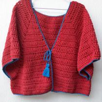 Mi Proyecto del curso:  Top-down: prendas a crochet de una sola pieza. Un projet de Mode, St, lisme, Tissage, DIY , et Crochet de Luz María Espinosa - 04.04.2021
