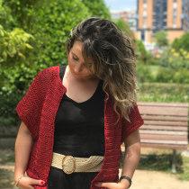Mi Proyecto del curso:  Top-down: prendas a crochet de una sola pieza. Un projet de Mode, St, lisme, Tissage, DIY , et Crochet de iris.morenoviera - 30.05.2021