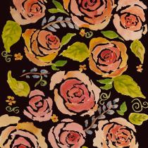 My project in Vibrant Floral Patterns with Watercolors course. Un progetto di Illustrazione, Design Pattern, Pittura ad acquerello e Illustrazione botanica di maggierose4363 - 28.05.2021