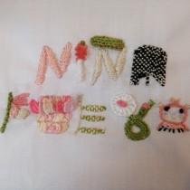 Mi Proyecto del curso: Introducción al bordado en relieve. A Embroider, and Textile illustration project by Monica Ruiz - 06.02.2021