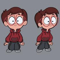 Projeto final do curso de Design de Personagem. A Animation, Character Design, and Character animation project by Guilherme Lipari - 06.04.2021