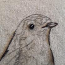 Mi Proyecto del curso: Pintar con hilo: técnicas de ilustración textil. Um projeto de Ilustração, Bordado e Ilustração têxtil de Catalina Moreno - 05.06.2021