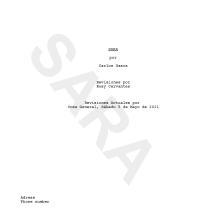 Mi Proyecto del curso: Escritura de guion para cortometrajes de ficción. Un progetto di Cinema, video e TV, Scrittura, Cinema, Produzione audiovisiva, Script , e Narrativa di Carlos Gasca Reyes - 06.06.2021