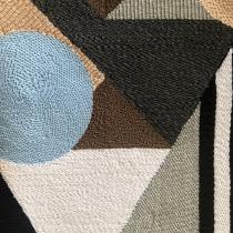 Panel Acústico con Aguja Mágica . Un progetto di Ricamo, Illustrazione tessile e Interior Design di Francis Medina - 28.05.2021