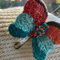 My project in Stumpwork Embroidery: Create 3D Ornaments  course. Un proyecto de Diseño de jo, as, Bordado e Ilustración textil de karua08 - 07.06.2021