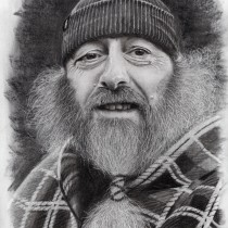 My project in Artistic Charcoal Portraiture: Creating Atmosphere course. A Illustration, Bildende Künste, Zeichnung, Porträtillustration, Porträtzeichnung, Realistische Zeichnung und Artistische Zeichnung project by Mitch Brown - 07.06.2021
