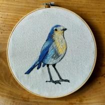 Mi Proyecto del curso: Pintar con hilo: técnicas de ilustración textil. Um projeto de Ilustração, Bordado e Ilustração têxtil de Cindy Arias - 08.06.2021